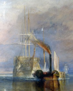 Detalle El Temerario William Turner