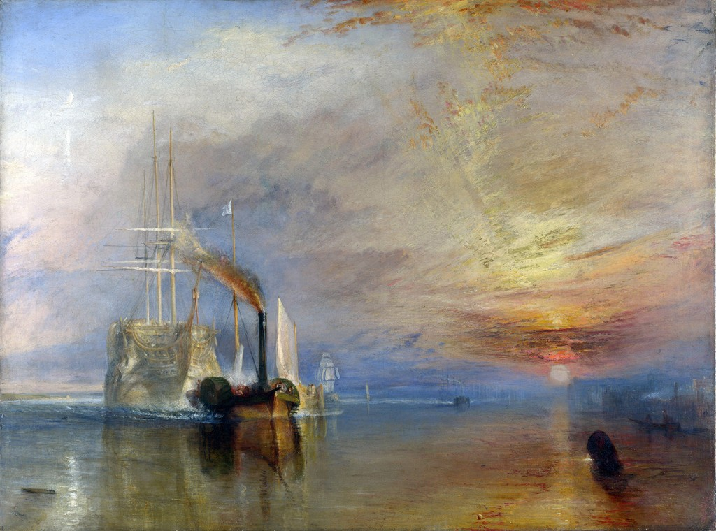 El Temerario, William Turner