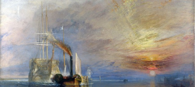 El temerario remolcado a dique seco, William Turner